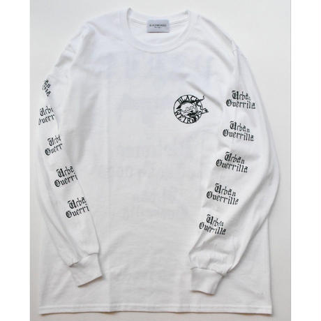 Black Weirdos / PARIS L/S Tee(WHITE)