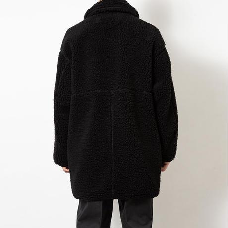 SON OF THE CHEESE / FLEECE COAT(BLACK)