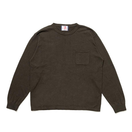 SON OF THE CHEESE / C100 long sleeve(GREEN)