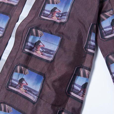 Black Weirdos /Silk Gown Coat (PINUP)