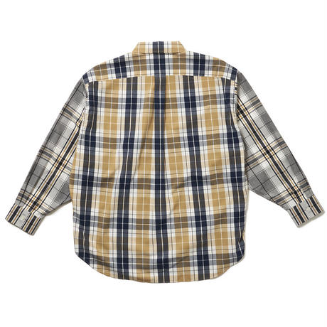 SON OF THE CHEESE / 2Check Shirt (YELLOW)