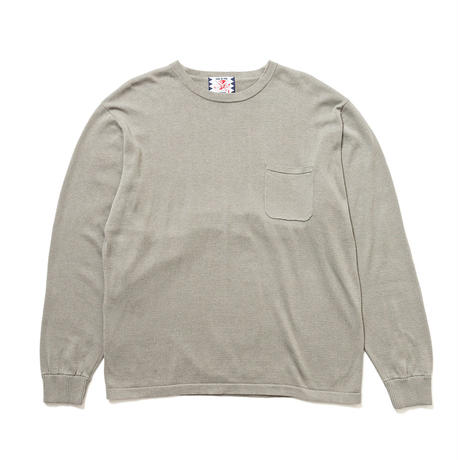 SON OF THE CHEESE / C100 long sleeve(GRAY)