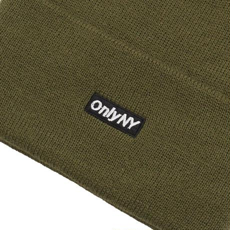 Only NY / Block Logo Thinsulate® Beanie ( Olive )