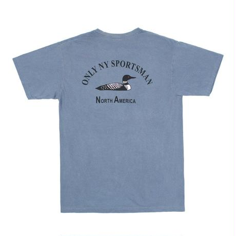 Only NY /  Loon Society T-shirt (Vintage Blue)
