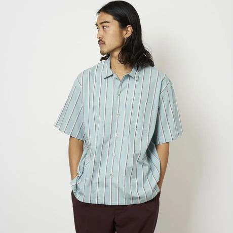 SON OF THE CHEESE / Stripe OpShirt (GREEN)