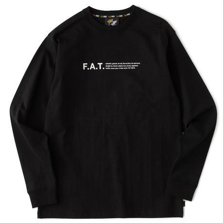 FAT / OTee L  (BLACK)