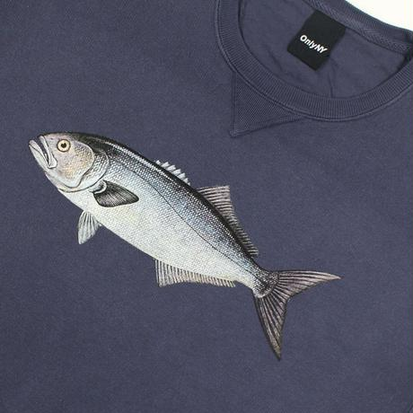 Only NY / Bluefish Crewneck (Vintage Navy)