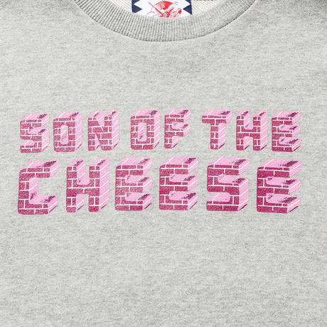 SON OF THE CHEESE / Brick LOGO CREW(GRAY)