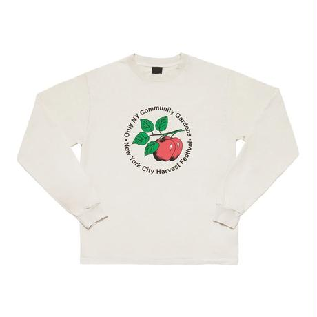 Only NY / COMMUNITY GARDENS L/S T-SHIRT (Cement)