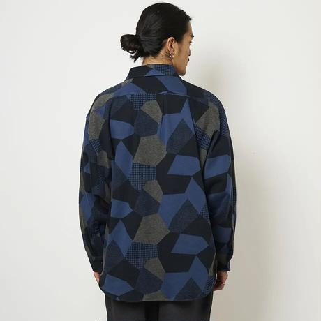 SON OF THE CHEESE / Geome Shirt (NAVY)
