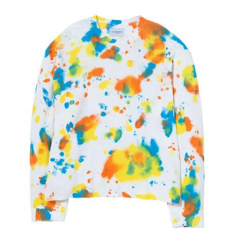 Black Weirdos / Removable Thermal Shirt (TieDye)