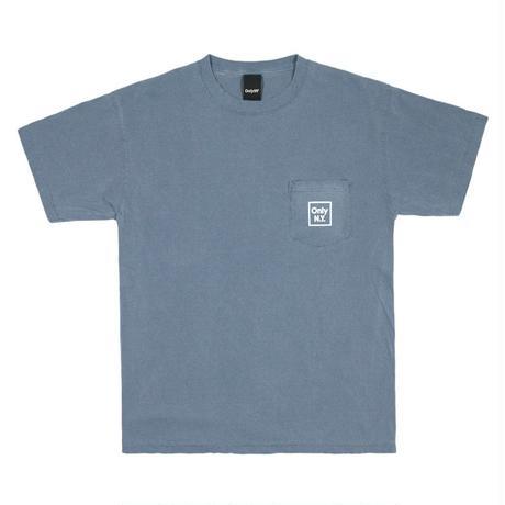 Only NY / Cube Logo T-shirt (Vintage Blue)