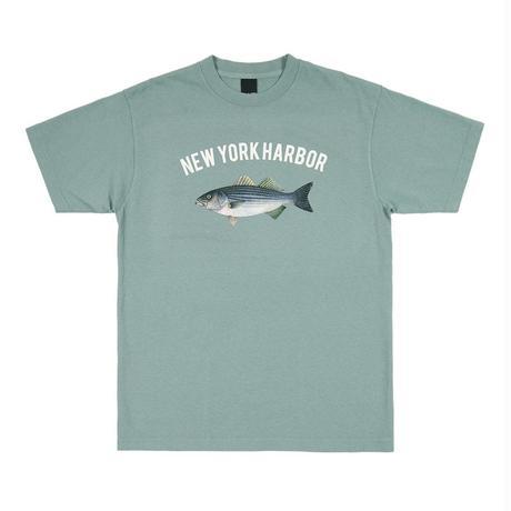 Only NY /  NEW YORK HARBOR T-SHIRT(Atlantic Green)