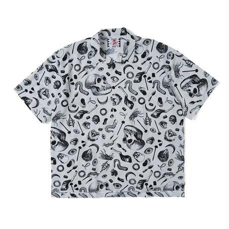 SON OF THE CHEESE / Skeleton Shirt (WHITE)