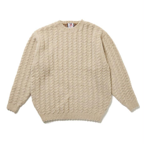 SON OF THE CHEESE / Backcolor Crew(BEIGE)