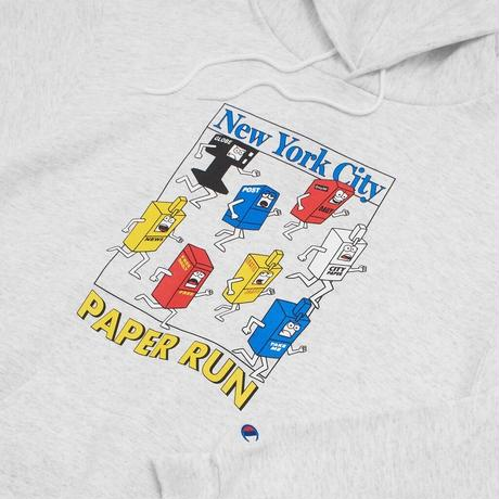 Only NY / aper Run Champion® Hoodie ( Ash )