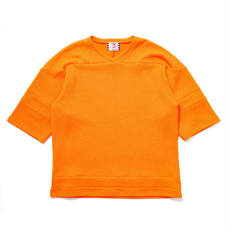 SON OF THE CHEESE / knitball Tee(ORANGE)