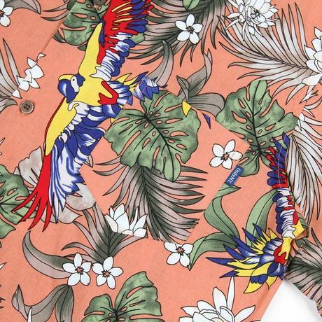 Only NY / Parrot Aloha Shirt(Apricot)