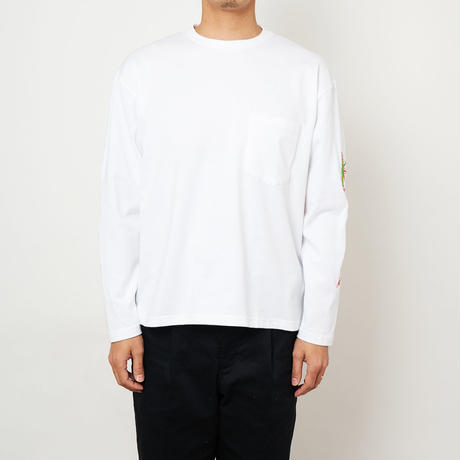 SON OF THE CHEESE / Drag LS TEE (WHITE)