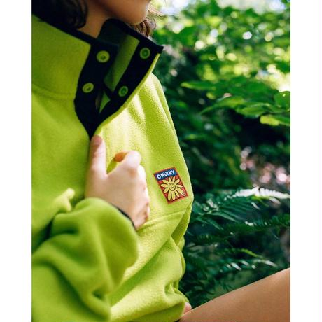 Only NY / Flower Pullover Fleece ( Lime )