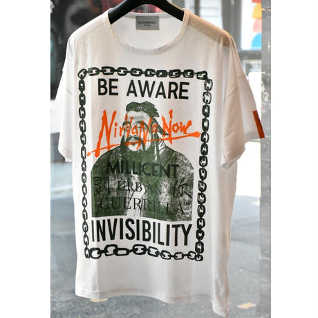 Black Weirdos / BEAWARE Tee(WHITE)