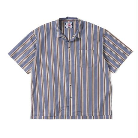 SON OF THE CHEESE / Stripe OpShirt (BLUE)