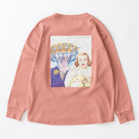 SON OF THE CHEESE / hey man crew LS (PINK)