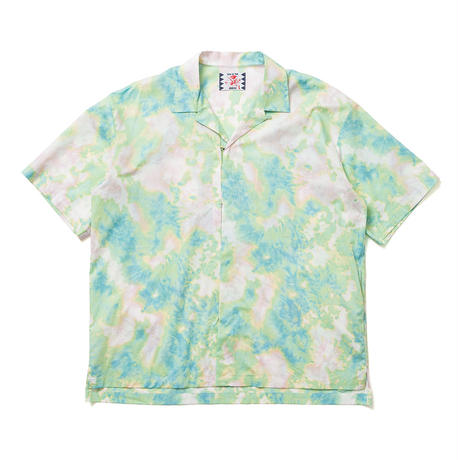 SON OF THE CHEESE / DYE Hook Shirt(GREEN)