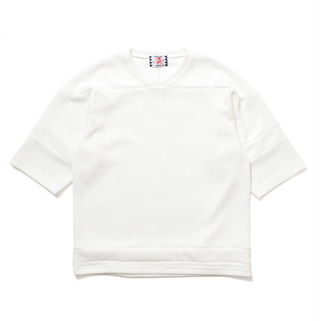 SON OF THE CHEESE / knitball Tee(WHITE)