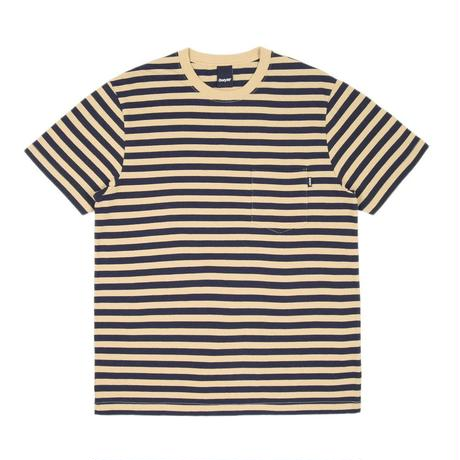 Only NY / Nautical Stripe Pocket T-Shirt (Old Gold)