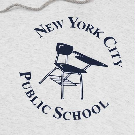 Only NY / NYC Public School Champion Hoodie(Ash)
