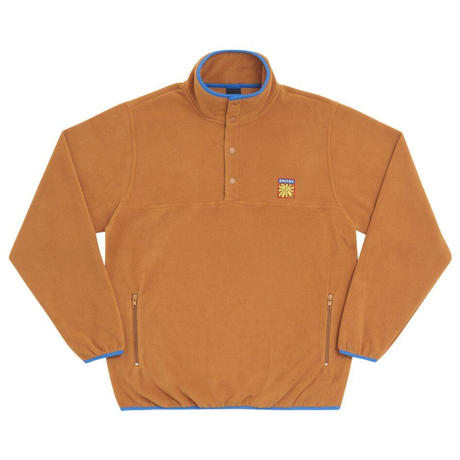 Only NY / Flower Pullover Fleece ( Almond )