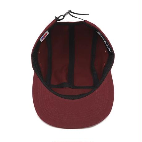 Only NY / Twill Logo 5-Panel Hat(Burgundy)