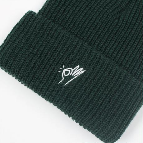 Only NY / OK Beanie (College Green)