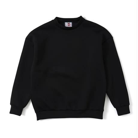 SON OF THE CHEESE / High neck Crew (BLACK)