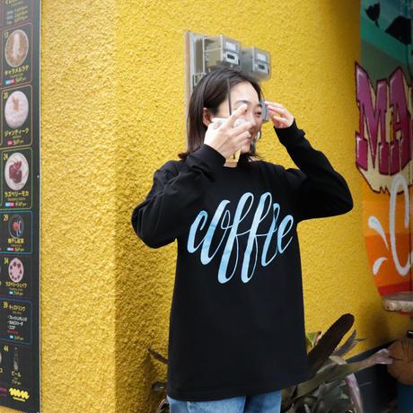 """coffee"" Long Sleeve T-shirts(artwork by Ryu Mieno)[3colors / 5.6oz Body]"