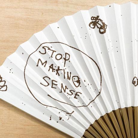 """STOP MAKING SENSE"" 扇子"