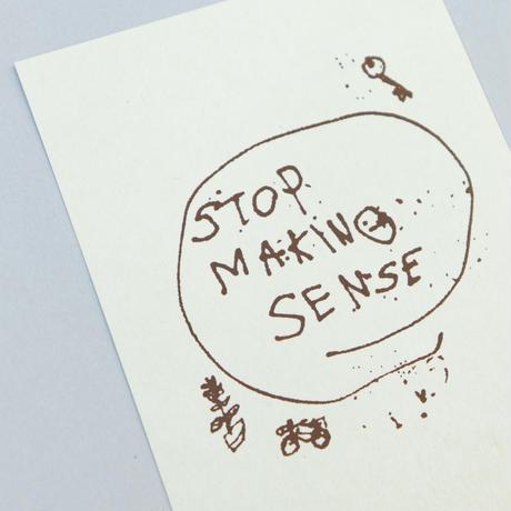 """""""STOP MAKING SENSE"""" ブレンド ポストカードset"""