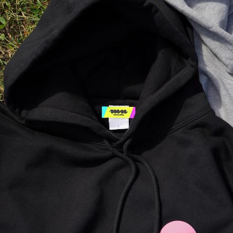 """【11月上旬発送予定】""""マヌ怪獣"""" hoodie (artwork by yoshi47)"""