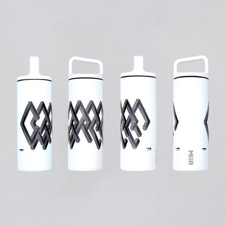 """【父の日GIFT🎗】""""COFFEE"""" Wide Mouth Bottle (WHITE) & 水出しコーヒーバッグ set"""