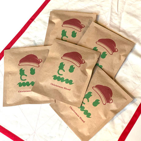 クリスマスブレンド DRIP BAG 5個セット [Design by Hikaru Matsubara]