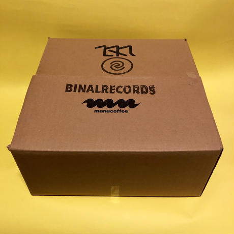 【BINAL RECORDS × manucoffee】レコードボウル