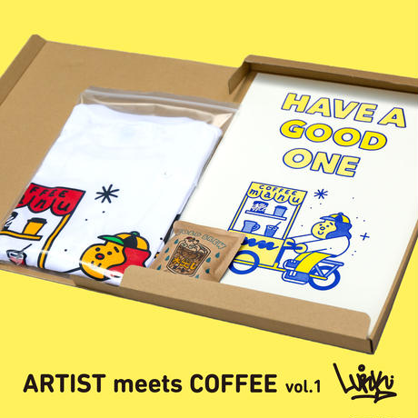 """LURK """"HAVE A GOOD ONE"""" set (ARTIST meets COFFEE vol.1)"""