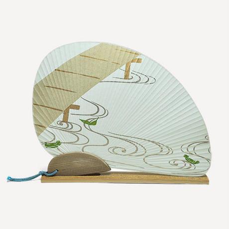 オリジナル団扇セット 笹舟