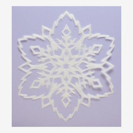 SNOWFLAKE #218 Lace#2 (L-size)