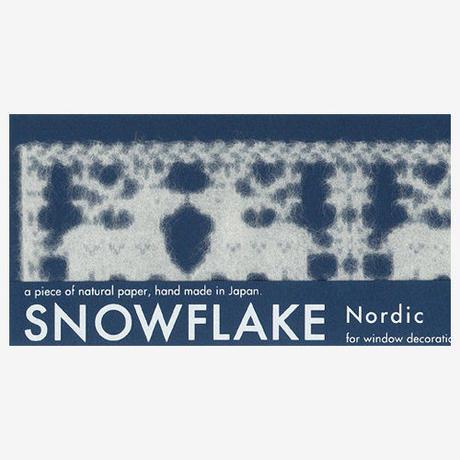 SNOWFLAKE Nordic #02  Raindeer