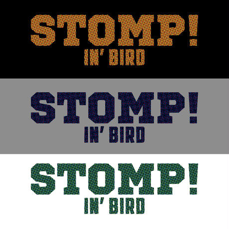 STOMP! Tシャツ (グレー)