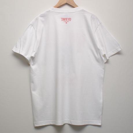 WHO KILLED STOMPIN'BIRD Tシャツ(白)