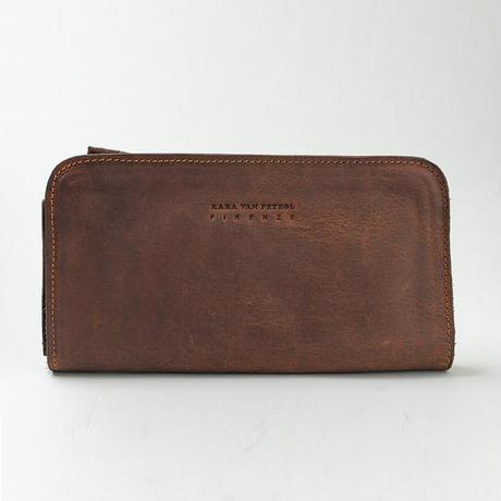KV8101:ハーフジップ長財布 DAVIS