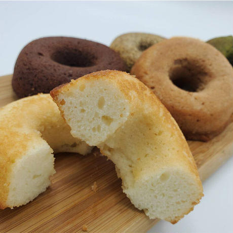 ミサキドーナツの焼きドーナツ6点セット(送料込)